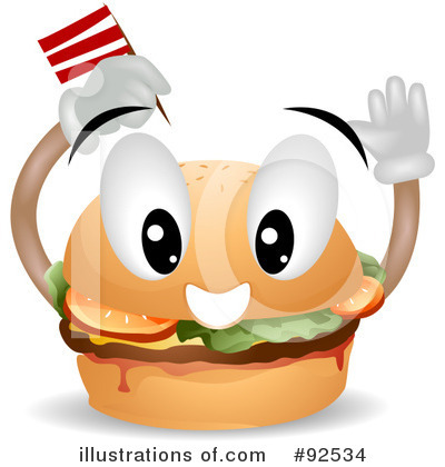 Fast Food Clipart #92534 by BNP Design Studio