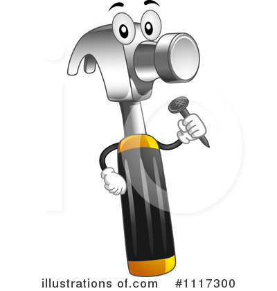 Hammer Clipart #1117300 by BNP Design Studio