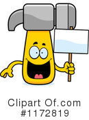 Hammer Clipart #1172819 by Cory Thoman