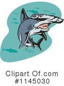 Royalty-Free (RF) Hammerhead Shark Clipart Illustration #1145030
