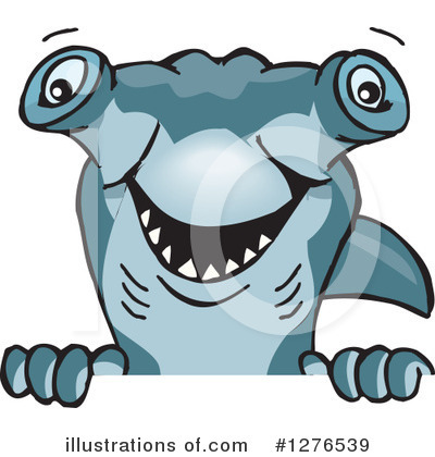 Shark Clipart #1276539 by Dennis Holmes Designs