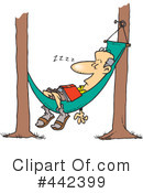 Royalty-Free (RF) Hammock Clipart Illustration #442399