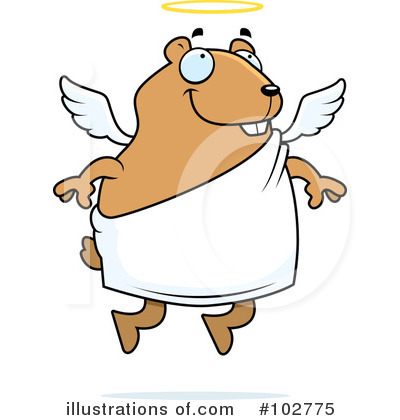 Hamster Clipart #102775 by Cory Thoman