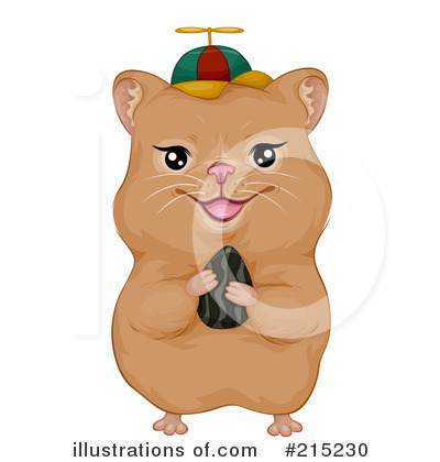 Hamster Clipart #215230 by BNP Design Studio