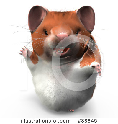 Hamster Clipart #38845 by Leo Blanchette