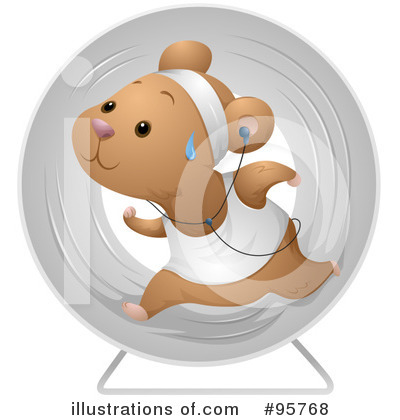 Hamster Clipart #95768 by BNP Design Studio