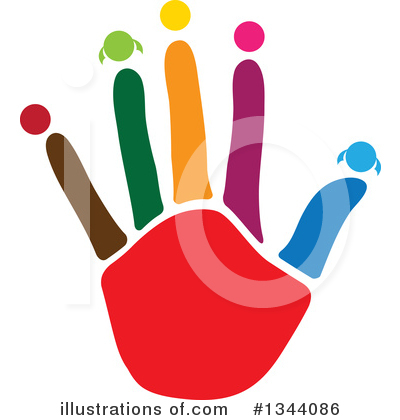 Royalty-Free (RF) Hand Clipart Illustration by ColorMagic - Stock Sample #1344086