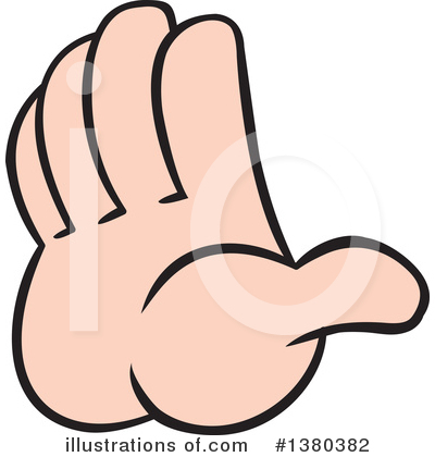 Hands Clipart #1380382 by Johnny Sajem