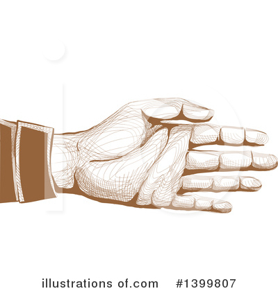 Handshake Clipart #1399807 by BNP Design Studio