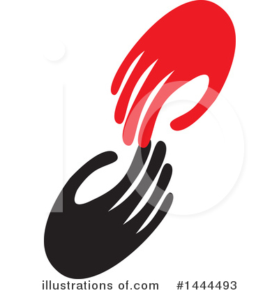 Handshake Clipart #1444493 by ColorMagic