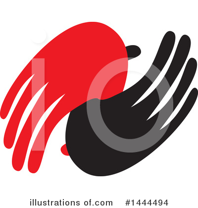 Handshake Clipart #1444494 by ColorMagic
