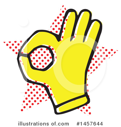 Hand Clipart #1457644 by Cherie Reve