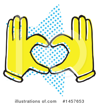 Hand Clipart #1457653 by Cherie Reve