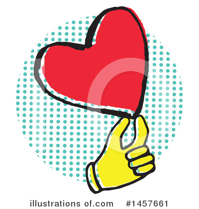 Hand Clipart #1457661 by Cherie Reve