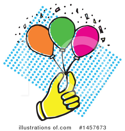 Balloon Clipart #1457673 by Cherie Reve
