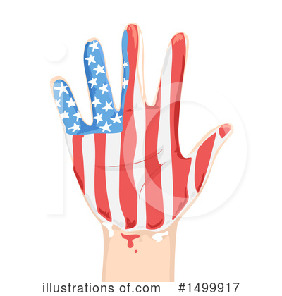 Memorial Day Clipart #1499917 by BNP Design Studio