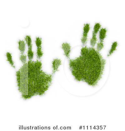 Hand Prints Clipart #1114357 by Mopic