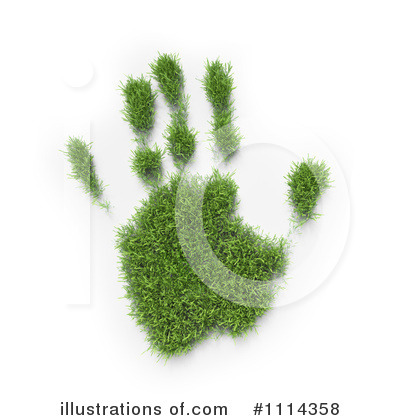 Hand Prints Clipart #1114358 by Mopic