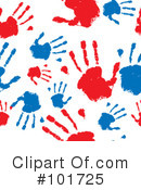 Hand Prints Clipart #101725