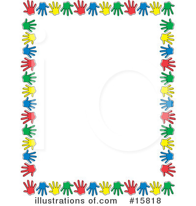 Royalty free rf hand prints clipart illustration by andy nortnik