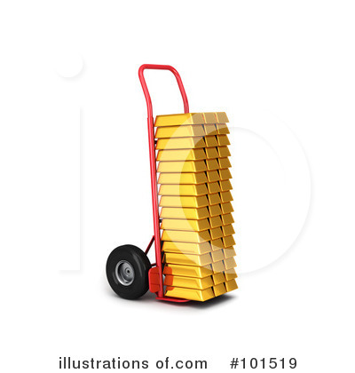 Gold Clipart #101519 by stockillustrations