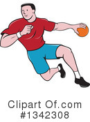 Handball Clipart #1342308 by patrimonio