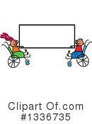 Royalty-Free (RF) Handicap Clipart Illustration #1336735
