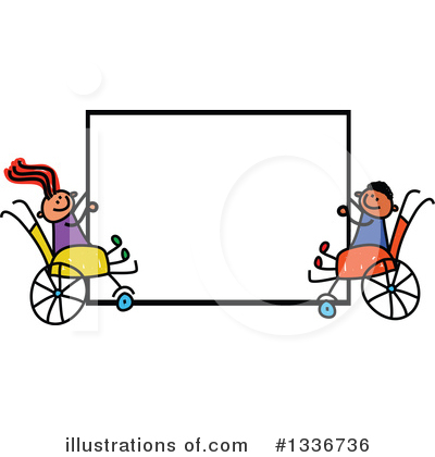 Royalty-Free (RF) Handicap Clipart Illustration by Prawny - Stock Sample #1336736