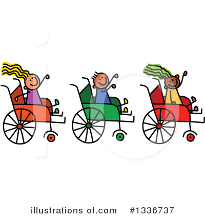 Royalty-Free (RF) Handicap Clipart Illustration by Prawny - Stock Sample #1336737