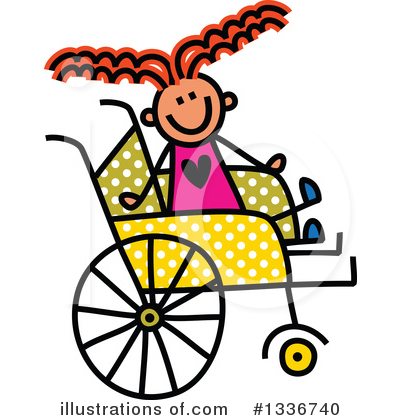 Royalty-Free (RF) Handicap Clipart Illustration by Prawny - Stock Sample #1336740