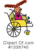 Royalty-Free (RF) Handicap Clipart Illustration #1336740
