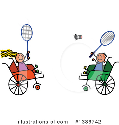 Royalty-Free (RF) Handicap Clipart Illustration by Prawny - Stock Sample #1336742