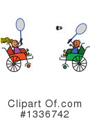 Royalty-Free (RF) Handicap Clipart Illustration #1336742