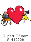 Royalty-Free (RF) Handicap Clipart Illustration #1410006