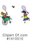 Royalty-Free (RF) Handicap Clipart Illustration #1410010
