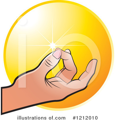 Meditating Clipart #1212010 by Lal Perera