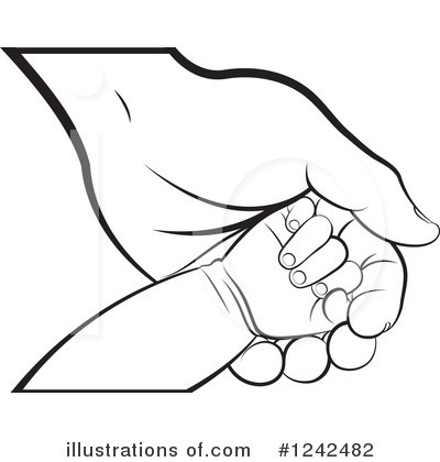 Hand Clipart #1242482 by Lal Perera
