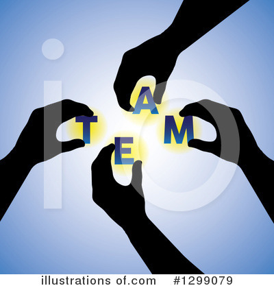 Teamwork Clipart #1299079 by ColorMagic