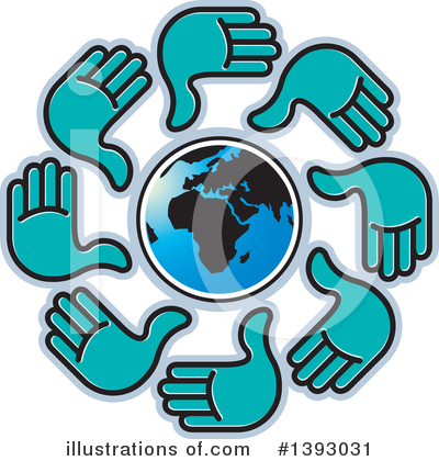 Hands Clipart #1393031 by Lal Perera