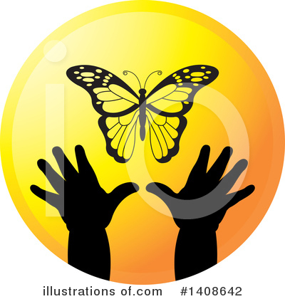 Butterfly Clipart #1408642 by Lal Perera