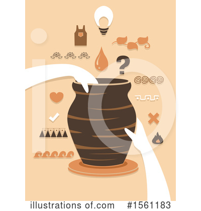 Pottery Clipart #1561183 by BNP Design Studio