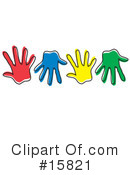 Royalty-Free (RF) Hands Clipart Illustration #15821