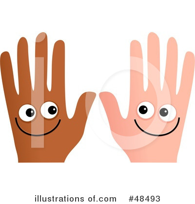 Royalty-Free (RF) Hands Clipart Illustration by Prawny - Stock Sample #48493