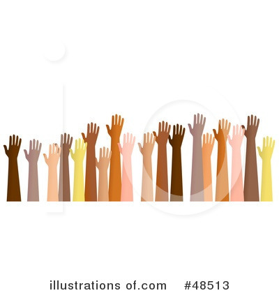 Royalty-Free (RF) Hands Clipart Illustration by Prawny - Stock Sample #48513
