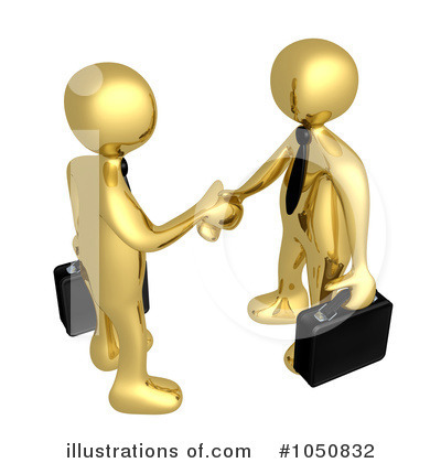Handshake Clipart #1050832 by 3poD