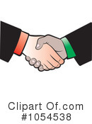 Handshake Clipart #1054538 by Lal Perera