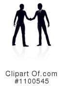 Handshake Clipart #1100545 by AtStockIllustration