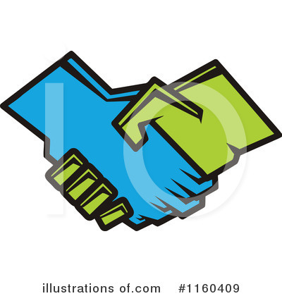 Handshake Clipart #1160409 by Vector Tradition SM
