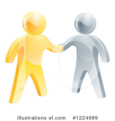 Handshake Clipart #1224989 by AtStockIllustration