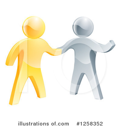 Handshake Clipart #1258352 by AtStockIllustration